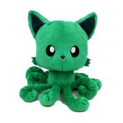 Tentacle Kitty 20cm Plush, Emerald Green