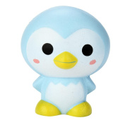 Squishy Toys, 9cm Cute Penguin Cartoon Scented Squishy Charm Slow Rising Squeeze Toy Charm or Children and Adult Toy Gift ADD ADHD