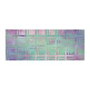 """KESS InHouse Matt Eklund """"Tiled Poison """" Pink Purple Bed Runner, 90cm x 220cm"""