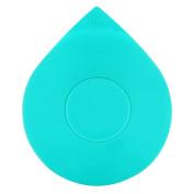 Wimaha Bathtub Drain Tub Stopper Silicone Recyclable Rubber Bath Tub Drain Plug Cover for 2.5cm - 2.5cm /5.1cm - 10cm Bathroom, Laundry, Kitchen Universal Use, Teal Water-drop Design