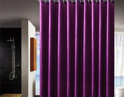 Shower Curtain, Waterproof Mould and Mildew-Resistant Fabric Shower Curtain. - 180cm x 180cm .