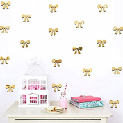 8 unds Stickers Wall Ties Gold For Children's Bedrooms Babyphone Salon Open Buy Hall
