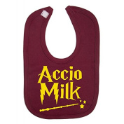 Accio Milk Harry Potter Novelty baby Bib 100% Cotton Novelty Baby Gifts