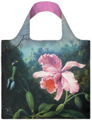 LOQI Museum Martin Johnson Heade Still Life with Orchid and Pair of Hummingbirds Reusable Shopping Bag