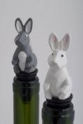 Rabbit Wine Saver Bottle Stopper / Novelty Cake Decoration + Gift Box