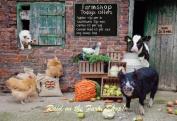 Raid On Farm Shop - Glass Worktop Saver