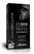 Manscape Eyebrow Shapers 28 Pre-Cut Eyebrow Shapers