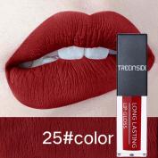 Xshuai TREEINSIDE 11 Colours Waterproof Long-Lasting Moisturiser Matte Velvet Sexy Lip Gloss Lipstick Cosmetic for Women Girls