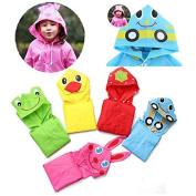 Bazaar New Kids Baby Cartoon Lovely Raincoats Children Rainwear for 90-130cm