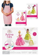 Real Cooking Princess Cakes Deluxe Baking Set with 2 Refill Kits and Exclusive Pink Kids Apron
