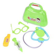 Wenjuan Kids Baby Doctor Medical Play Carry Set Case Education Role Play Toy Kit Role Playing Gift