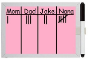 Life Made Better Game Scoreboard. Colourful, Mini Dry Erase Whiteboard. Perfect For Keeping Score With What Do You Meme. Adult Party Game - Pink