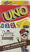 UNO Card Game Snappy Dressers 2 Card Games In One