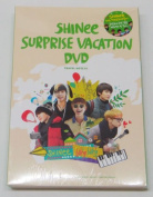 SHINee - SHINee Surprise Vacation DVD [6 Discs + Pouch + 5 Special Post Cards] + Extra Gift Photocards Set