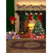 Broadroot Christmas Stockings 5D Diamond DIY Painting Room Decor Craft Accessory