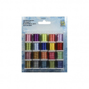 Embroidery Thread set 4 - 20 Spools Various Colours - Nellie Snellen