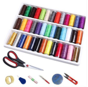 39 Colours Embroidery Machine Thread Embroidery Thread Floss Sewing Set
