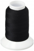YLI 21305-BLK Woolly Extra Nylon Thread, 300m, Black