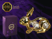 ® Components – Germany Crystal Temptations Germany Crystal Temptations – Miniature Figure – Gift Items – Components – Collectable Figures – with crystals – 24 Carat Gold Plated – Test – The Perfect Gift for A Birth, Baptism, Communio ..