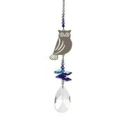 Crystal Fantasy Hanging Suncatcher/Rainbow Maker + 38mm Almond - OWL