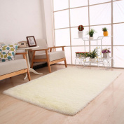 Bovake Fluffy Rugs Anti-Skid Shaggy Area Rug Dining Room Home Bedroom Carpet Floor Mat