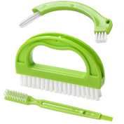 Tile Brushes (3 in 1) Grout, Joint Scrubber for Deep Cleaning