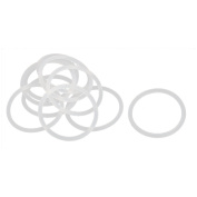 26mm x 30mm x 2mm Silicone Oil Gas Seal Tap Washer Gasket Sealing Rings 10 Pcs
