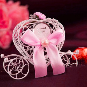 bismarckbeer Carriage Chocolate Candy Gift Box Wedding Party Favours with Bowknot Ribbon
