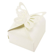 bismarckbeer 50Pcs Chocolate Candy Gift Boxes Wedding Party Favours Gift Bags