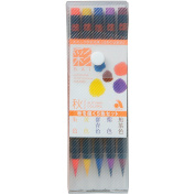 Akashiya CA200/5VC SAI Watercolour Brush Pen of 5 Colour Set, Autumn