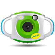 Digital Camera for Kids, AMKOV Mini 3.7cm Screen Frame Photo Innovative Camcorder for Childrens USB Compatible
