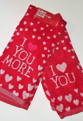 Celebrate Valentine's Day - I Love You More Hand Towel