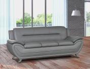 U.S. Livings Anya Contemporary Modern Living Room Sofa