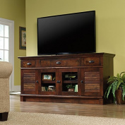Sauder Harbour View TV Stand in Curado Cherry