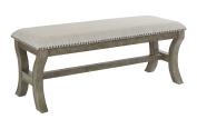 Monaco 120cm Bench Antique Grey
