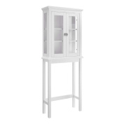 Linon Scarsdale Space Saver in White