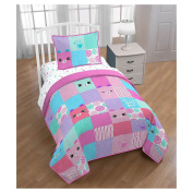 Shopkins Happy Places Quilt & Sham (Twin/Full) Turn any space into a HAPPY PLACE!!