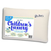 Children's Luxury - Kids Bed Pillow by Dr. Bob's- New - Memory Foam Machine Washable in HOT water. Sanitise your Pillows- Organic Cotton Cover- 2 Sizes -also Toddler's Luxury Bed Pillow