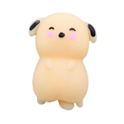 Decompression Toys Dog,Cute Mochi Squishy Cat Squeeze Healing Fun Kids Kawaii Toy Stress Reliever Decor Gift Squishy Slow Rising Squeeze Strap Kids Toy Gifts Soft Cute Squeeze Toys for kids Jimmkey (As picture, Size