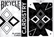 Cardistry Black & White Bicycle Playing Cards Poker Size Deck USPCC Custom