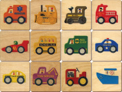 Vehicle Memory Tiles - Made in USA