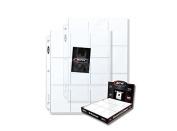 BCW Pro 9-Pocket Page POKEMON Binder Card 9 pocket pages 10 sheets Yo-gi-oh Ultra Storage PRO