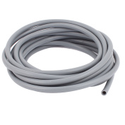 Unique Bargains 6mm x 8mm Silicone Tube Water Air Pump Hose Pipe 5 Metres Long Grey