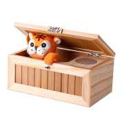 Tiger Useless Box NiceEshop,Don't Touch Toy Gift with Sound Surprises Most Leave Me Alone Machine