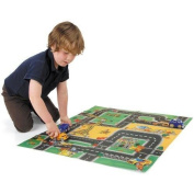 Unibos Adventure Playmat with 3 vehicles Circuit Play Mat Carpet Rug Toy Gift New