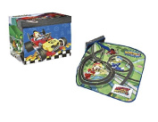 Disney Mickey and Friends Toy Box with Mickey Mouse Mat and Cover