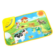 Musical Toys Sonnena Music Sound Farm Animal Kids Baby Play Playing Mat Carpet Play mat Gym Toy