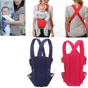 NewBorn Baby Infant Carrier Backpack Front Behind The Knight of the Honda of the coat of the Comfort Bag blue