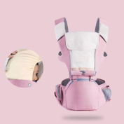 ZHAOJING Four Seasons Breathable Multi-functional Baby Carrier Waist Stool Front Hold Baby Hold Baby Stool Back Pocket