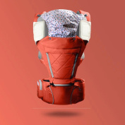 ZHAOJING Baby Carrier Front Hold Baby Waist Stool Multi-functional Breathable Hold Single Stool